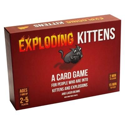 Exploding Kittens Game