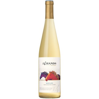 14 Hands Moscato White Wine - 750ml Bottle