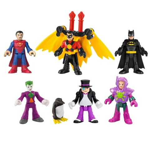 Fisher-Price Imaginext DC Super Friends Deluxe Figure Pack - image 1 of 4