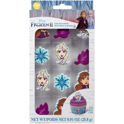 Wilton Frozen 2 Royal Icing Decorations - 0.91oz/12ct