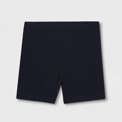 French Toast Girls' Uniform Kick Pull-On Shorts - Navy