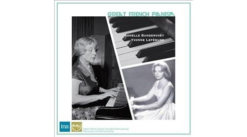 Agnelle Bundervoet - Great French Pianism (CD) - image 1 of 1