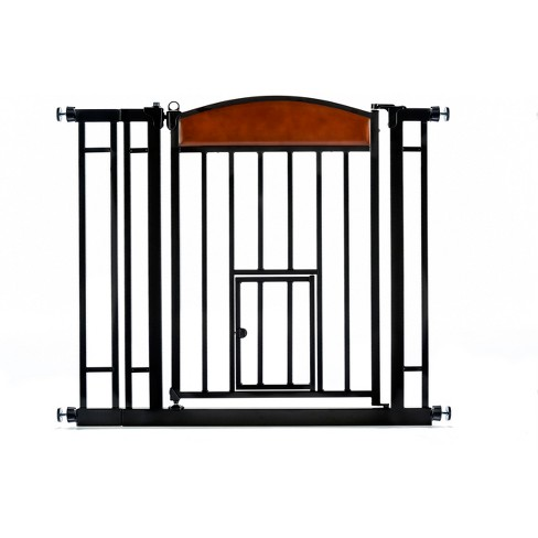 Carlson Design Studiodog Cat Or Baby Gate Medium Cherryblack