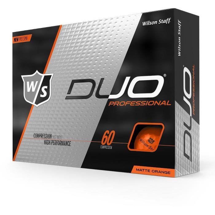 Wilson Staff Duo Professional Matte Orange Golf Balls - image 1 of 1
