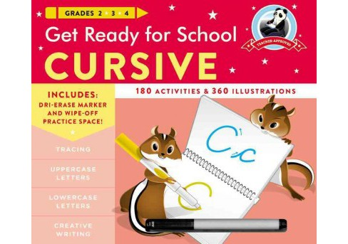 Get Ready for School Cursive (Paperback) (Heather Stella) - image 1 of 1