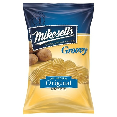 Mikesell's Groovy All Natural Original Potato Chips - 10oz - image 1 of 1