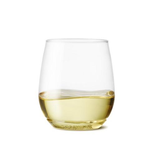 14oz Vino Plastic Wine Glasses Set Of 12
