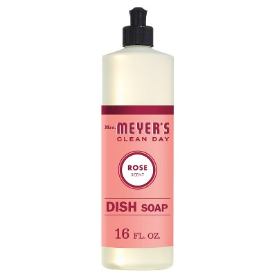 Mrs. Meyer's Clean Day Rose Dish Soap - 16 fl oz