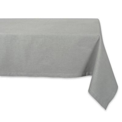 Artichoke Solid Chambray Tablecloth