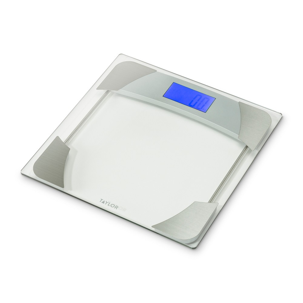 Glass Weight Tracker Scale - Taylor, Clear