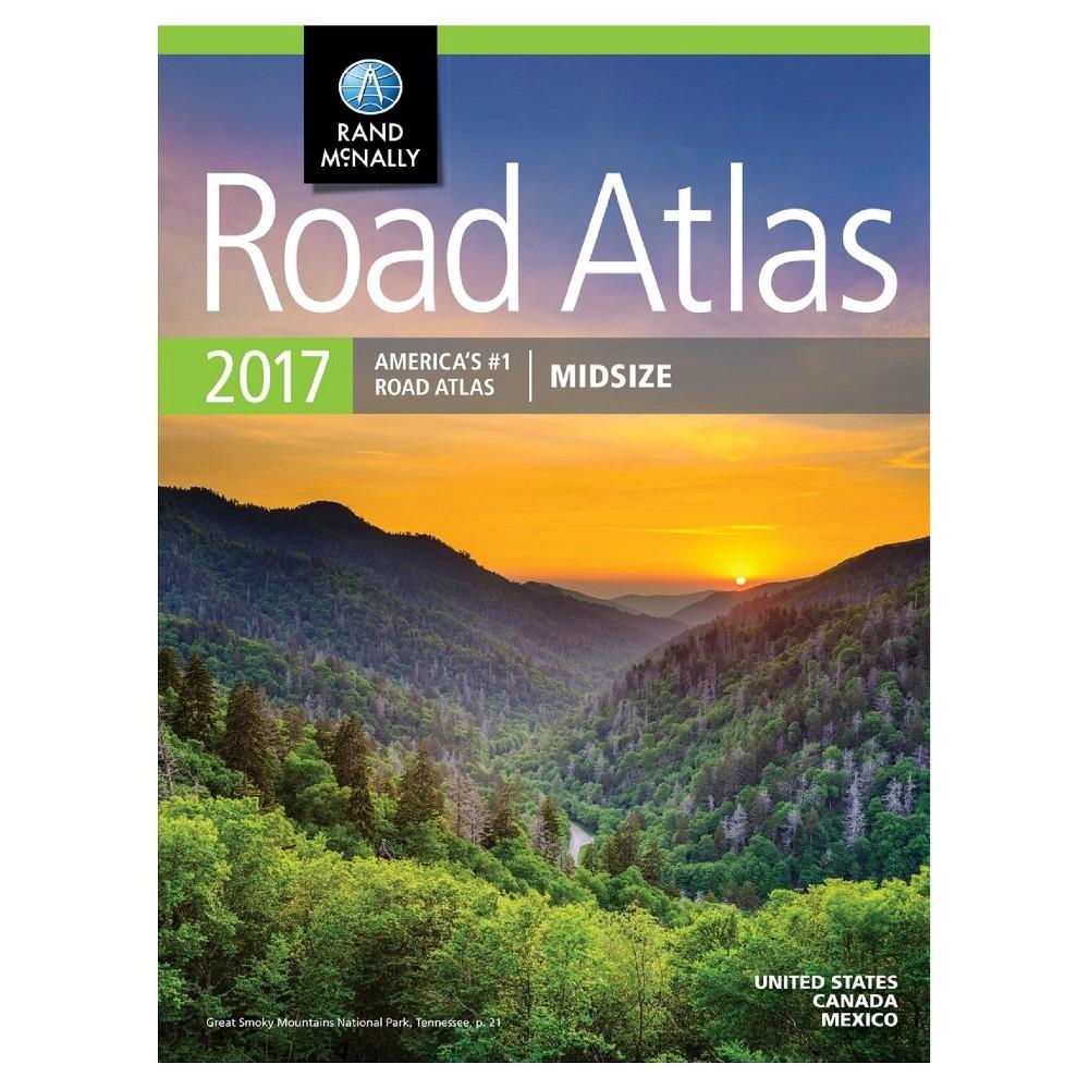 Rand McNally Midsize Road Atlas 2017 (Paperback) by Rand McNally