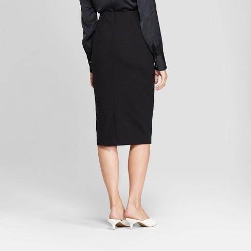 bfefd396a Women's Midi Pencil Skirt - Prologue™ Black : Target
