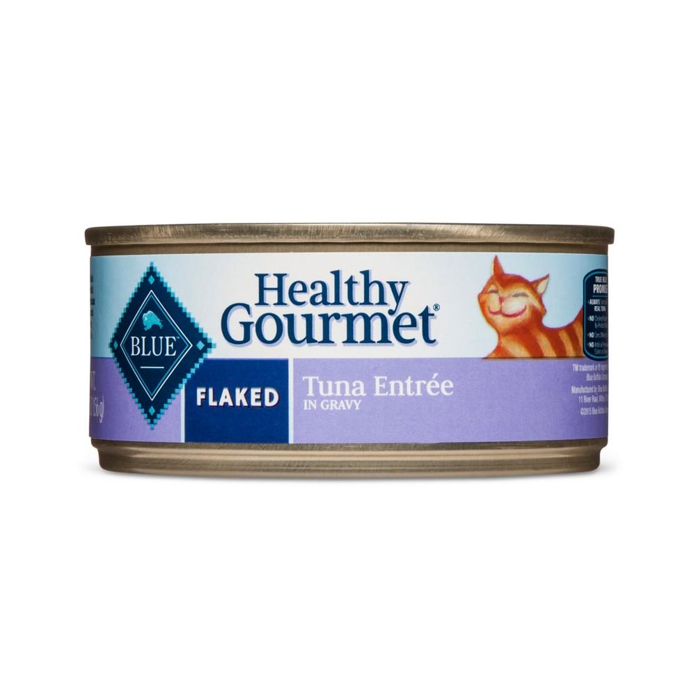 Blue Buffalo Healthy Gourmet Adult Flaked Tuna - Wet Cat Food - 5.5oz