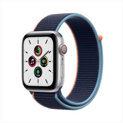Apple Watch SE GPS + Cellular Aluminum Case with Sport Loop