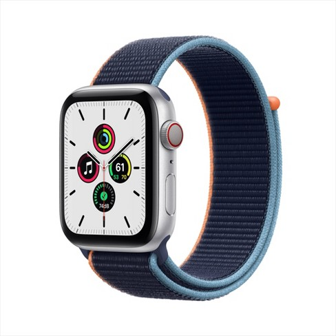 Apple Watch SE GPS + Cellular Aluminum Case with Sport Loop - image 1 of 4