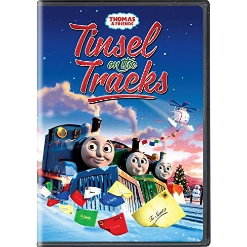 thomas friends tinsel on the tracks dvd target