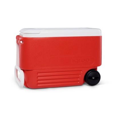 Igloo Wheelie Cool 38qt Cooler - Red