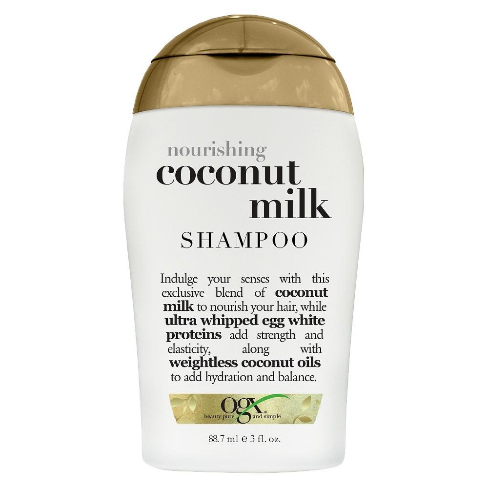 Ogx Nourishing Coconut Milk Shampoo - Trial Size - 3 fl oz