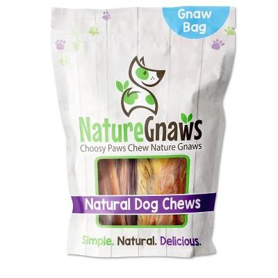 Nature Gnaws Beef Dog Chews Variety Pack Dog Treats - 12ct