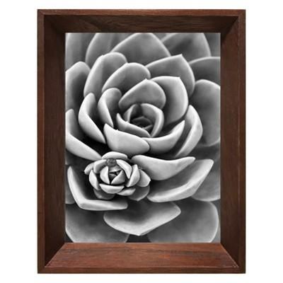 5  x 7  Beveled Wood Table Frame Walnut - Threshold™