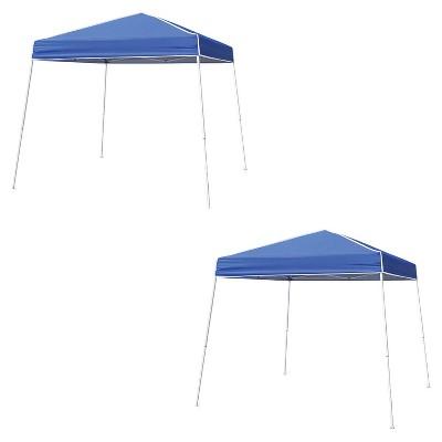 Z-Shade 12u0027X12u0027 Horizon Instant Pop Up Shade Canopy Tent Shelter Blue (2 Pack)  Target  sc 1 st  Target & Z-Shade 12u0027X12u0027 Horizon Instant Pop Up Shade Canopy Tent Shelter ...
