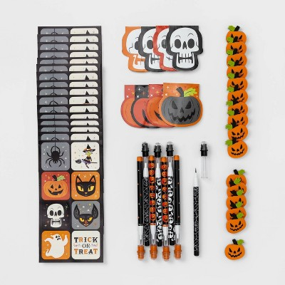 48pc Notebooks/Pencils/Erasers/Stickers Halloween Party Favors - Hyde & EEK! Boutique™