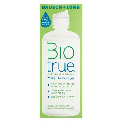 Contact Lens Solution: Biotrue