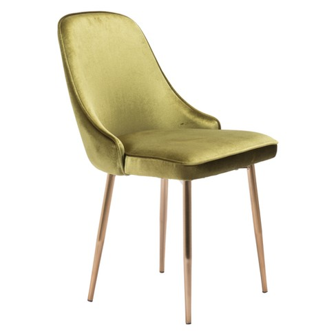 Modern Luxe Dining Chair - ZM Home - image 1 of 5