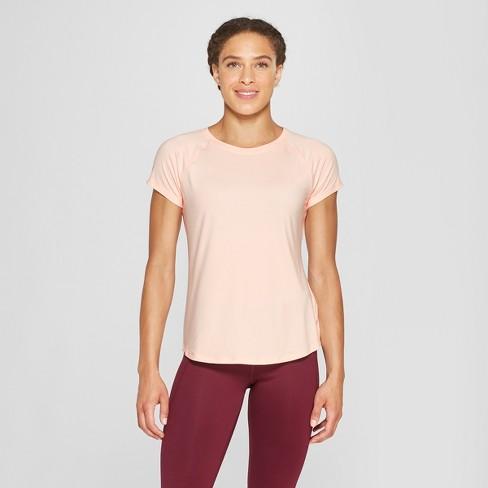 0ce156b3 Women's Short Sleeve Soft T-Shirt - C9 Champion® Pale Blush Pink XL ...
