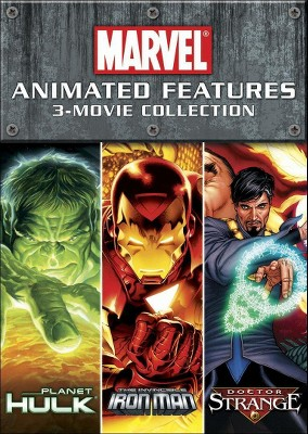 Marvel Animated Features 3-Movie Collection [2 Discs]