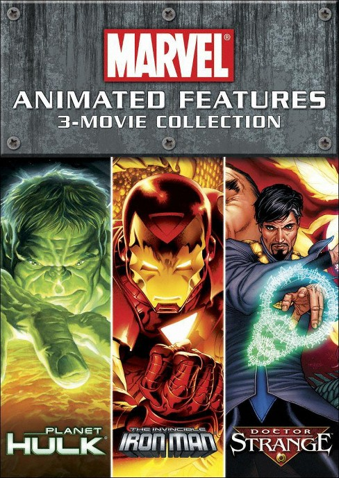 Marvel Animated Features 3-Movie Collection [2 Discs] - image 1 of 1