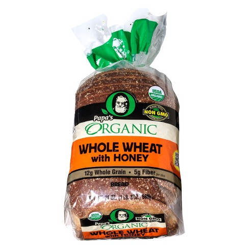 Papa Pita Organic Whole Wheat with Honey - 24oz - image 1 of 1