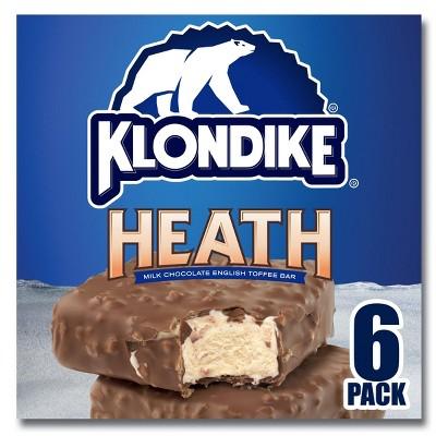 Klondike Heath Frozen Ice Cream Bars - 6ct