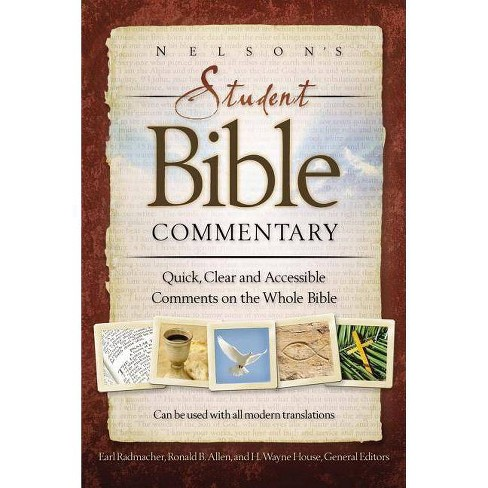 Nelson's Student Bible Commentary - by  Thomas Nelson (Paperback) - image 1 of 1