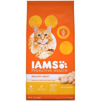 Iams Proactive Health With Chicken Adult Premium Dry Cat Food : Target