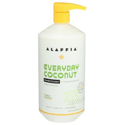 Alaffia Every Day Coconut Conditioner Purely - Coconut - 32oz