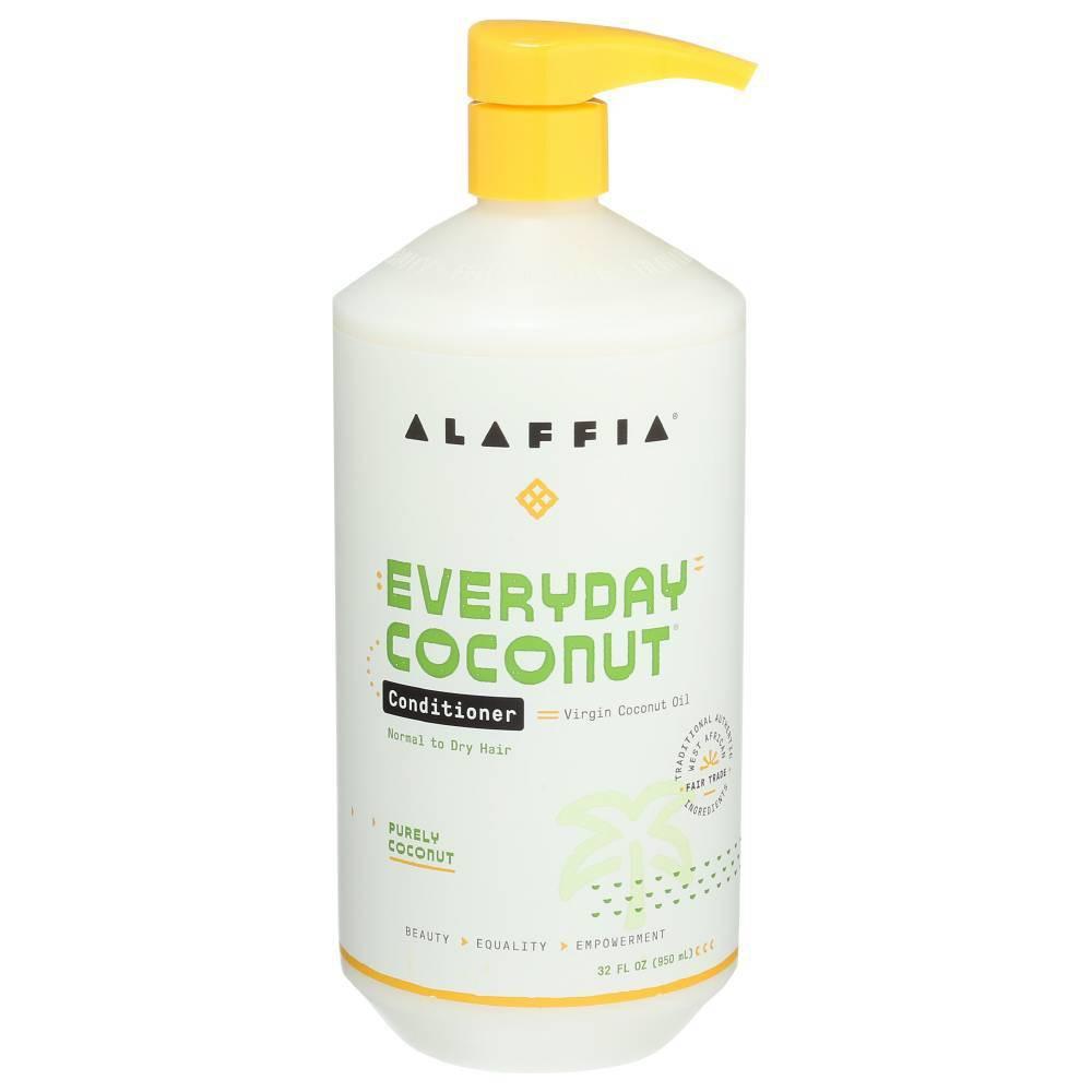 Image of Alaffia Purely Coconut Conditioner - 32 fl oz