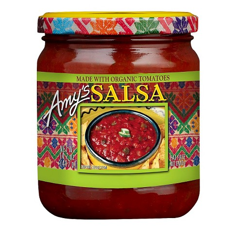 Amy's® Medium Salsa made with Organic Tomatoes 14.7 oz - image 1 of 1