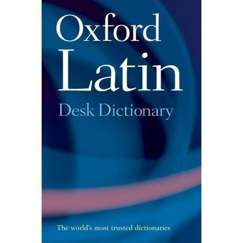Oxford Latin Desk Dictionary - (Hardcover) - image 1 of 1