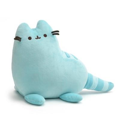 "GUND Pusheen 9"" Dinosaur Plush Stuffed Animal Cat - Blue"