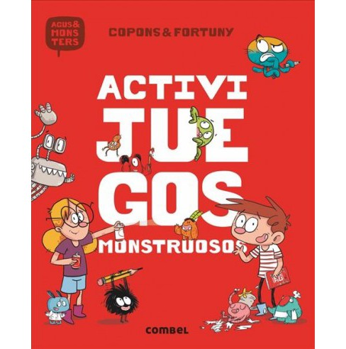 Activijuegos monstruosos / Active Games -  by Jaume Copons (Paperback) - image 1 of 1