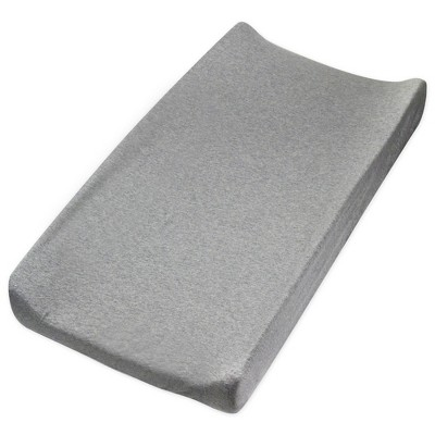 Honest Baby Organic Cotton Changing Pad Cover - Heather Gray