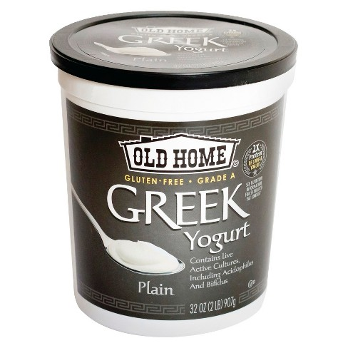 Old Home Greek Plain Yogurt - 32oz - image 1 of 1