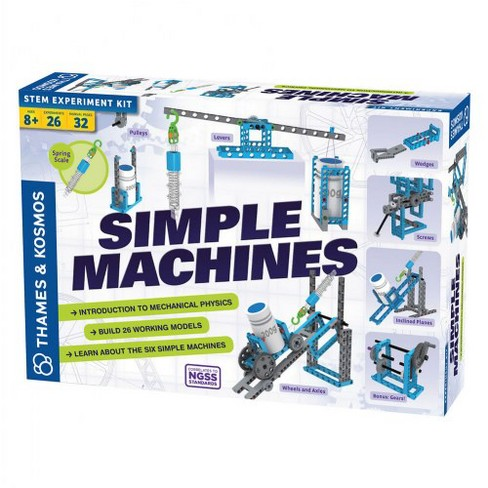 Thames & Kosmos Simple Machines STEM Experiment and Model Building Kit - image 1 of 4