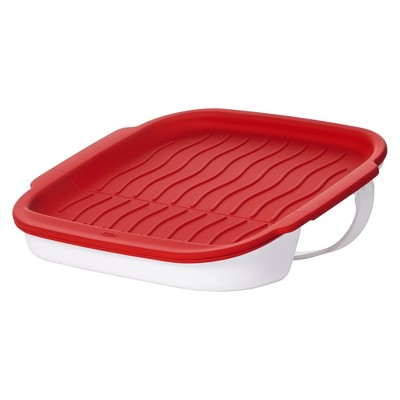 OXO Microwave Bacon Crisper - Red 21142600