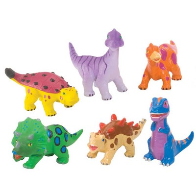 Wild Republic Soft and Squeezable Dinosaur Playset