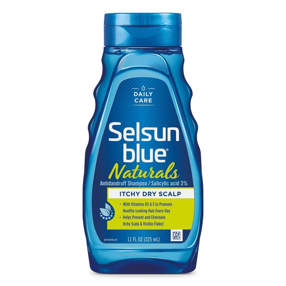 Selsun Blue Naturals Itchy Dry Scalp Shampoo 11 Fl Oz