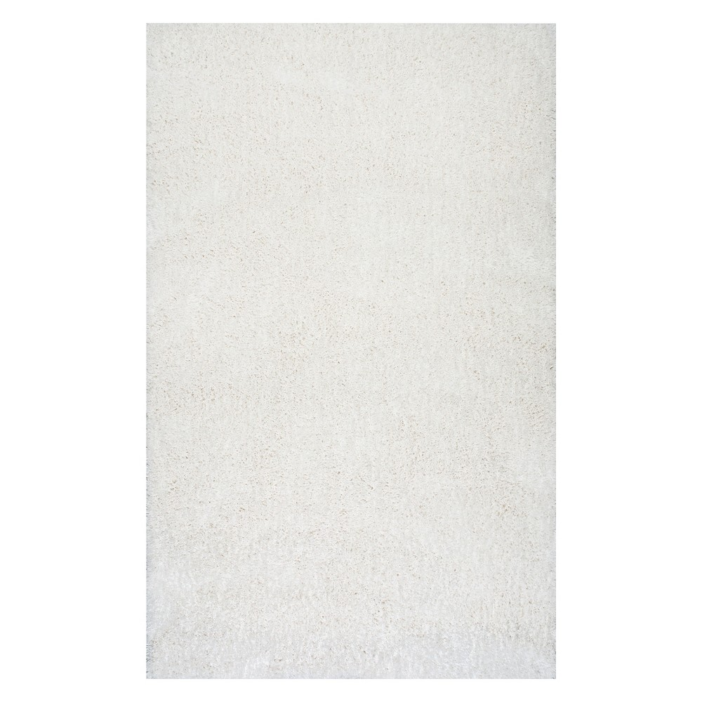 Off-White Solid Tufted Area Rug 8'X10' - nuLOOM, Ivory