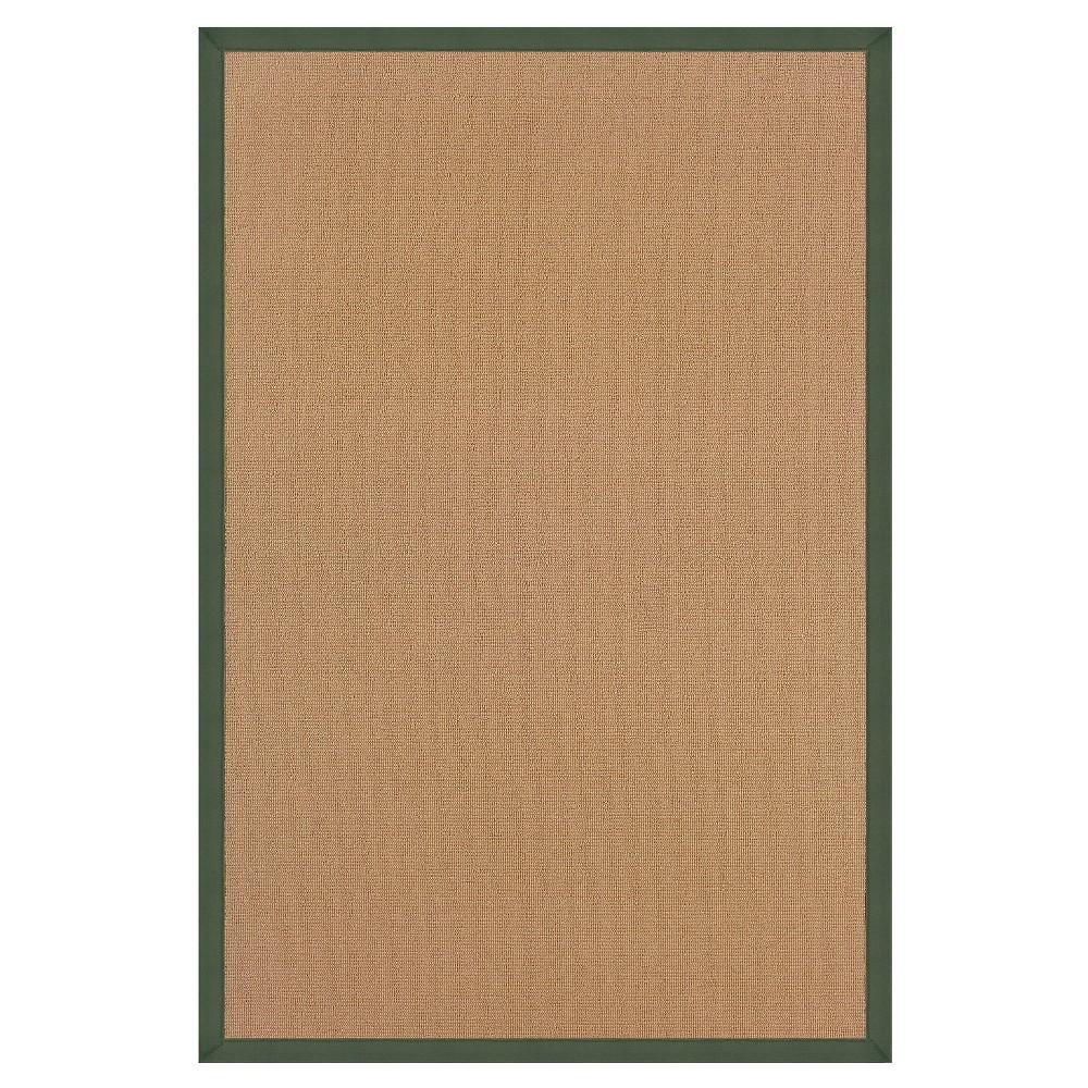 Athena Wool Runner - Green (2'6 X 12')