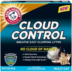 Arm & Hammer, Breathe Easy, Cloud Control Clumping Cat Litter - 19lbs